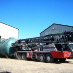 25,000 gallon Fuel Oil Tank - Shipped to South America 01 - Click for Large Image...