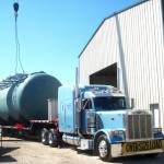 25,000 gallon Fuel Oil Tank - Shipped to South America 03 - Click for Large Image...