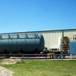 25,000 gallon Fuel Oil Tank - Shipped to South America 04 - Click for Large Image...