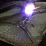 Plasma Arc - Part Cut Out - Click click for large image...