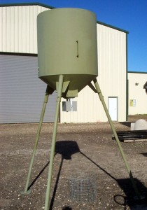 1200 lb Wildlife Feeder